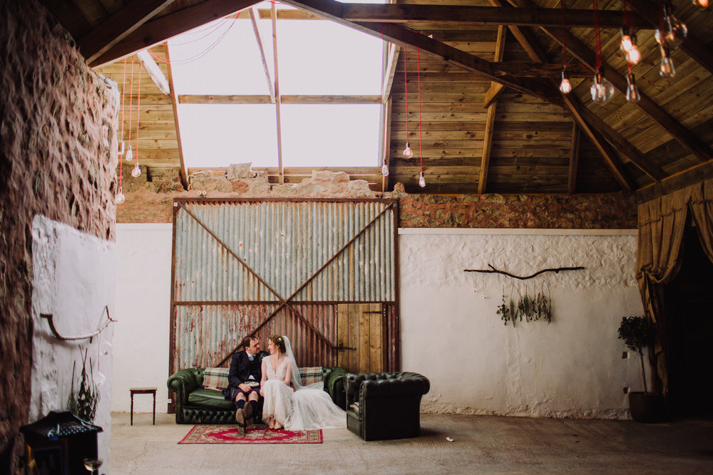 Laura + jason - Cow Shed Crail | May 2018