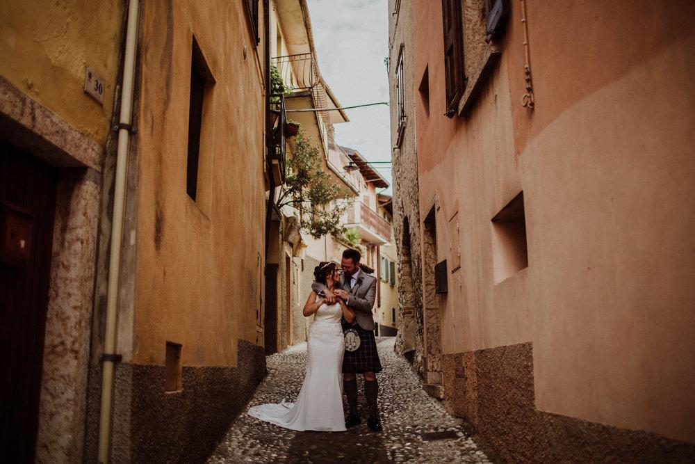 Nick + Lorraine - Malcesine, Italy | July 2018