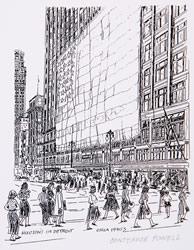 Hudson's, 1940s
