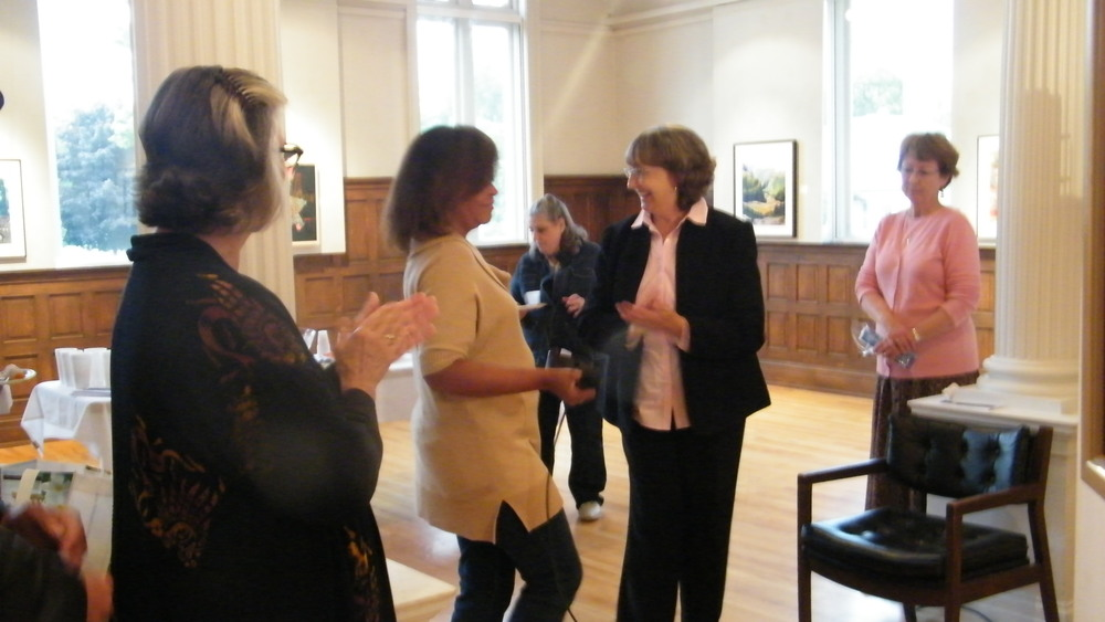 Jackie Rybinski, Dara Tolbert Brooks, Julie Sabit, Ann Lilia (Anton Art Center), Kathy O'Connell