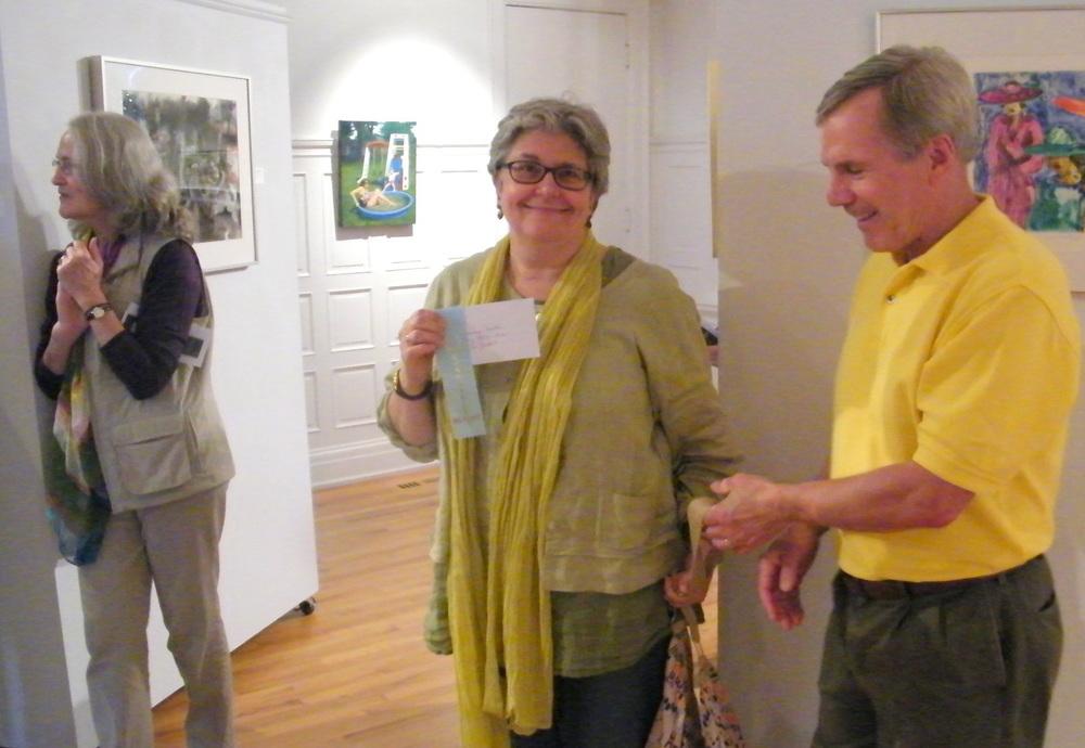 Honorable Mention winner Lori Zurvalec; Kathleen McNamee, Dave Hands