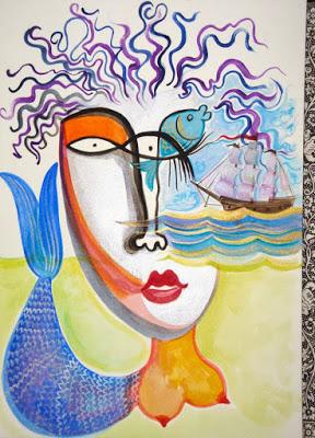 Fish-Eyed Mermaid