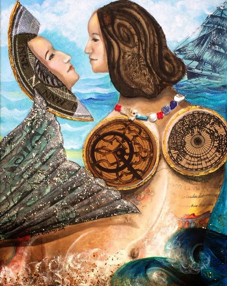 The Thinking Mermaid's Mirror