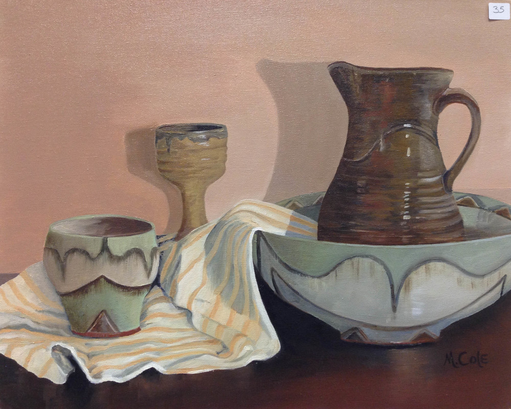 "Mary Cole, ""Earthen Vessels"""