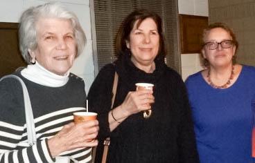 Carol La Chiusa, Deborah Maiale, and Stephanie Riolo