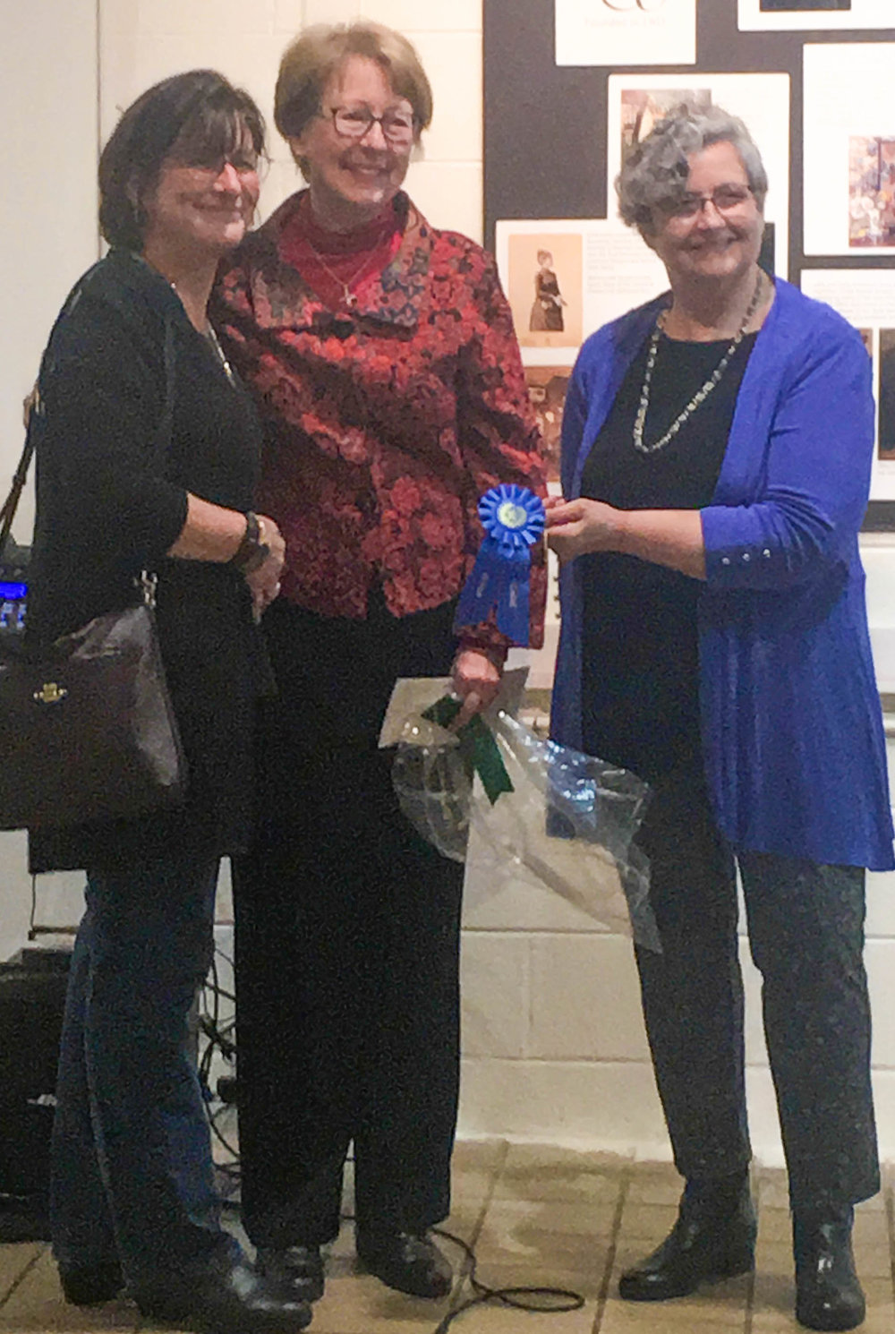 Beth Brown, Kathleen O'Connell, Joan Smykowski