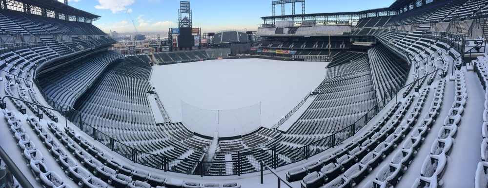 coors field winter