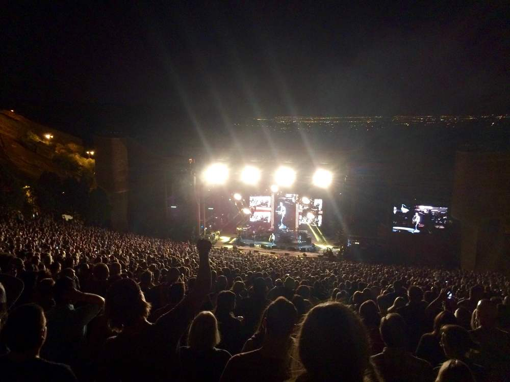 kings of leon, red rocks