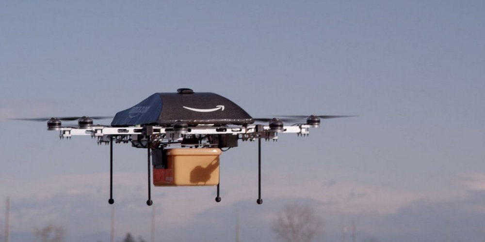 Delivery by drone? Sci-fi till recently. But now, not very far away from being sci-fact.