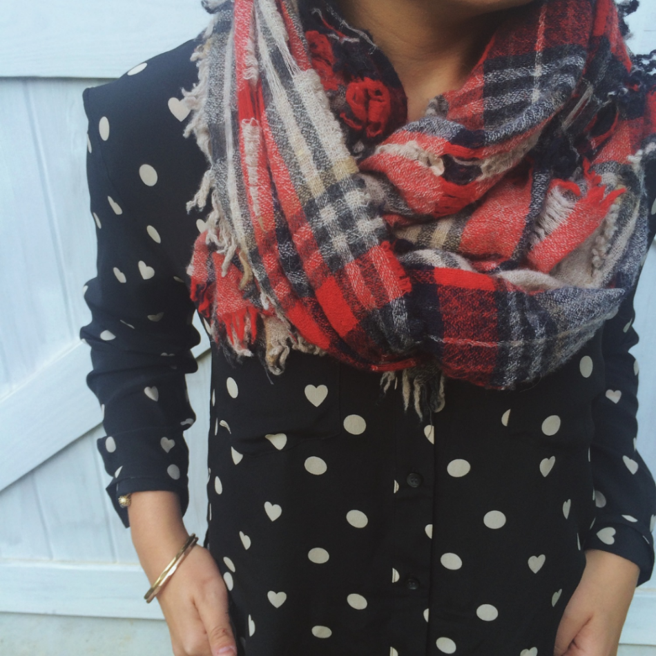 Madewell open weave scarf