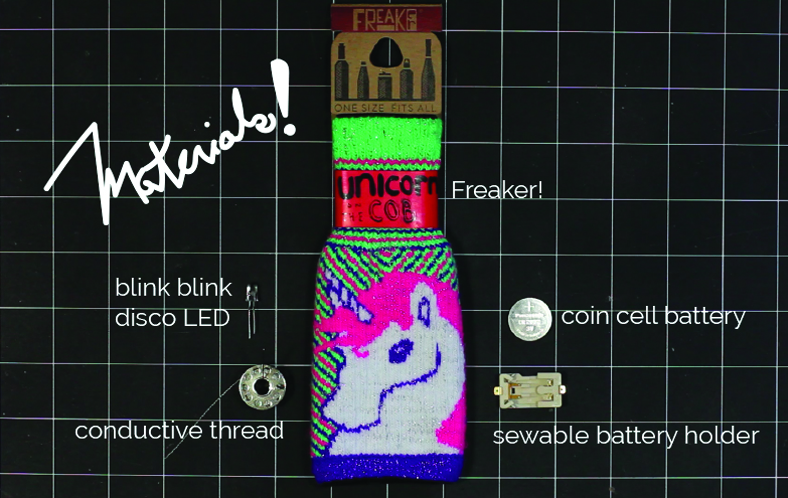 blink blink + freaker LED party