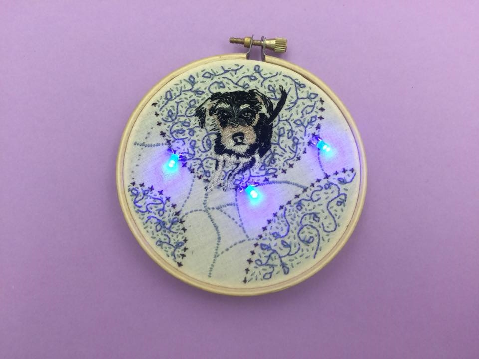 Light Up Embroidery