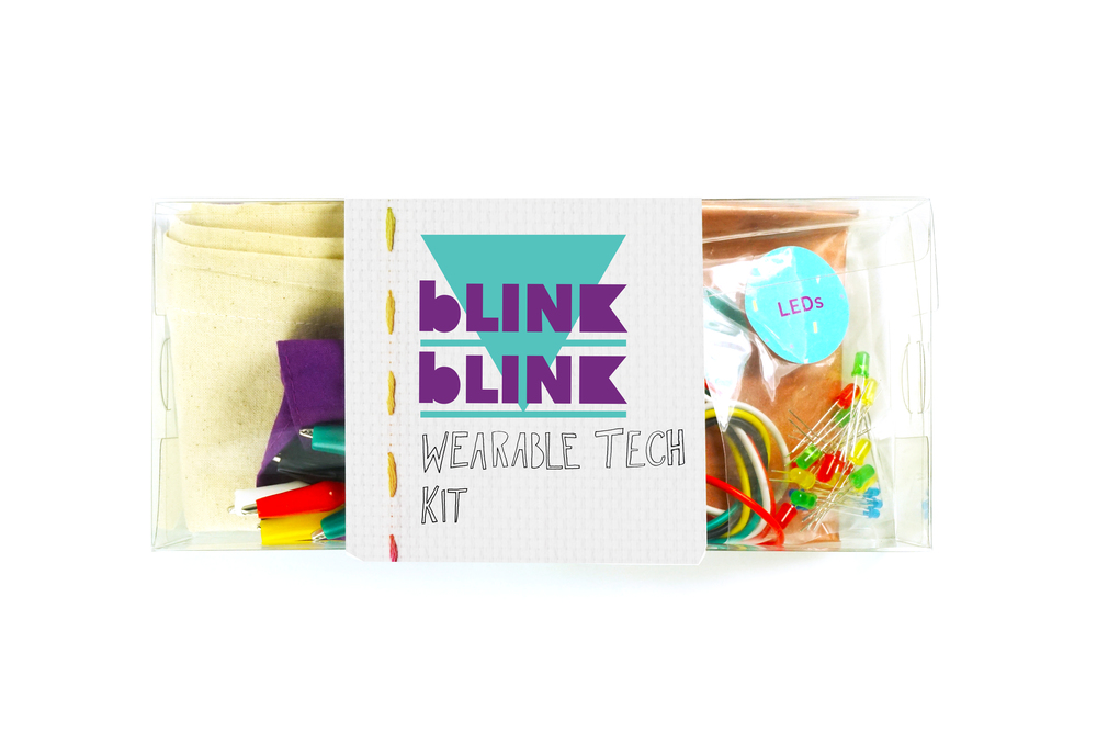 blink blink wearable tech kit