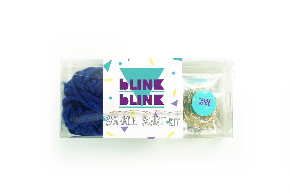 Sparkle Scarf kit | $42