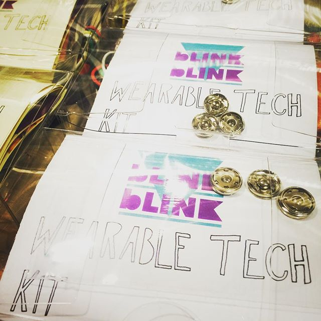Holy excitement!!! Today we are packing wearable tech kits to send ALL OVER THE WORLD!! As a part of the #nasa #spaceapps challenge, and because of support from @kickstarter, blink blink kits will be showing up in Australia, Nigeria, Denmark, Romania, Bolivia, Spain, and Cairo! Creative circuits for the world!