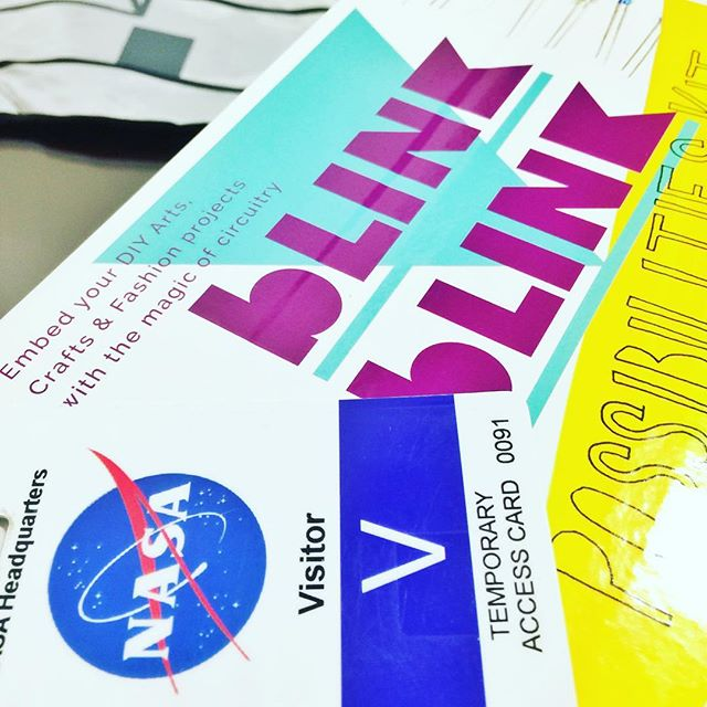 Incredibly excited and thankful to be demoing blink blink at NASA for the launch of this years NASA datanauts! #NASA #datanauts #blinkblink