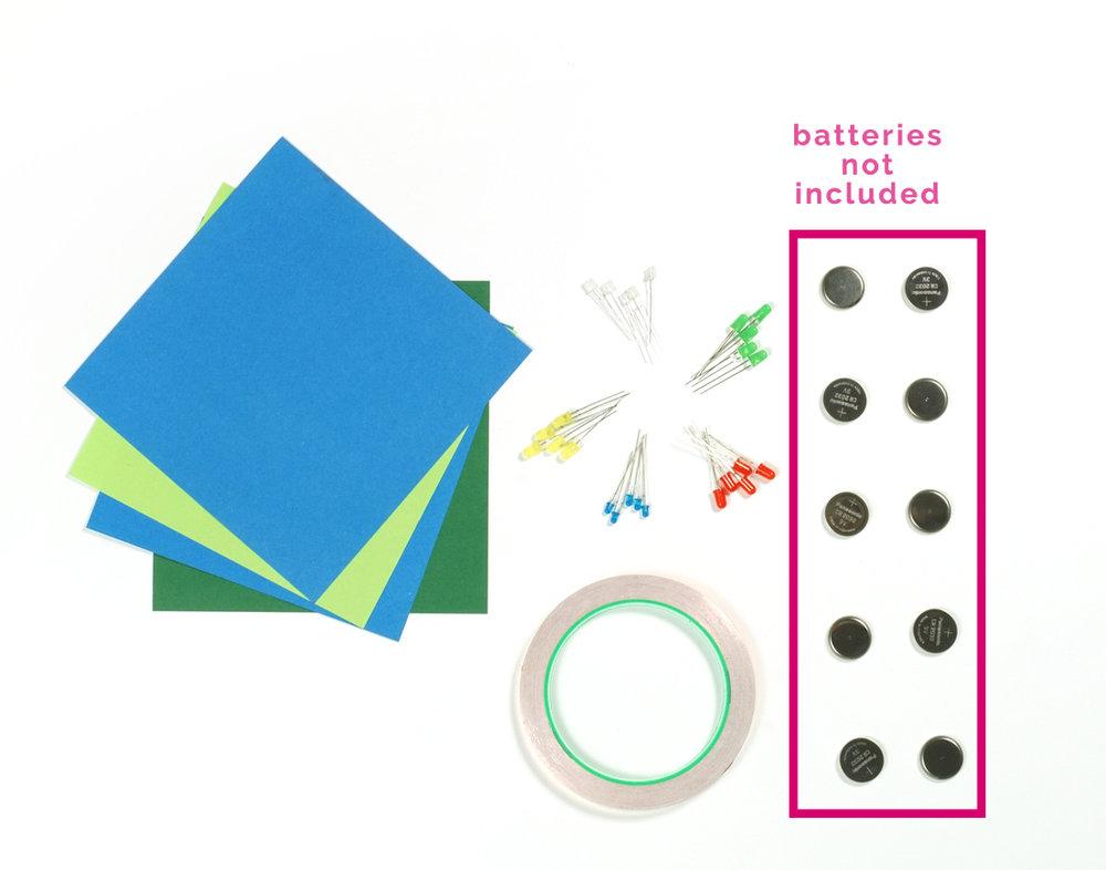 blink blink paper circuit kit