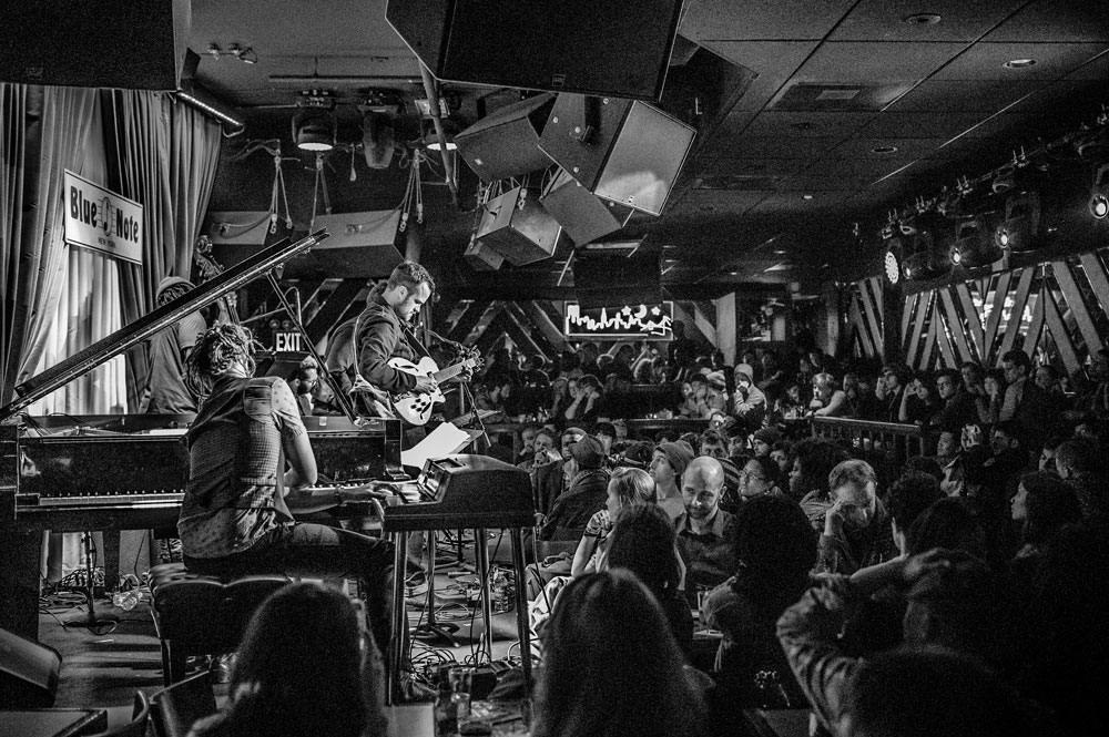 The Next Collective at the Blue Note. Photo by Bob Barsinski