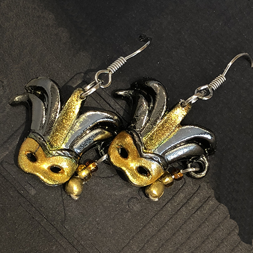 Mask Earrings