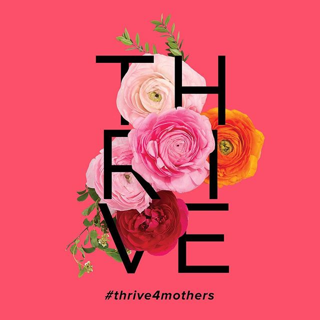 Sharing this image on behalf of @thredup, who will donate $1 for every social share to support mothers2mothers, an organization dedicated to empowering women living with HIV. #thrive4mothers #women