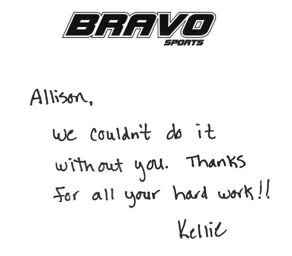 From Bravo Sports