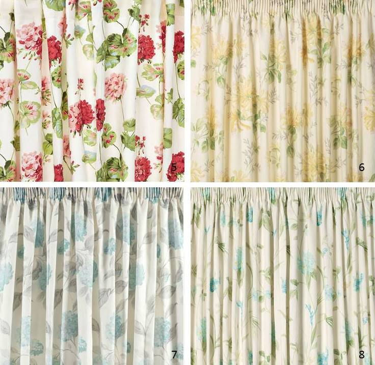 New Ready-Made Curtains from Laura Ashley