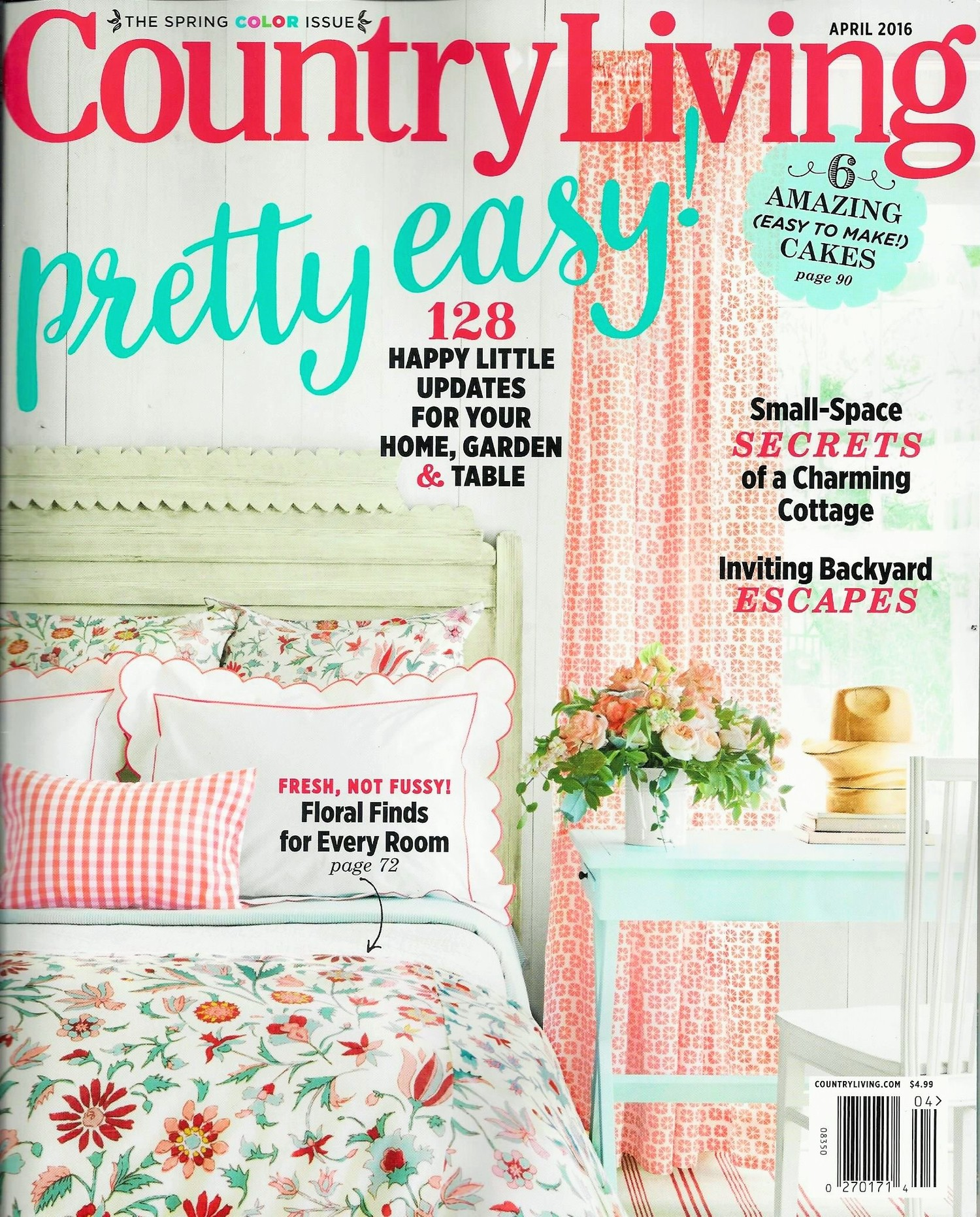 Country living magazines country decorating ideas from for Free interior design magazine subscriptions