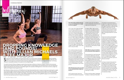 Fitfusion Featured In Best Self Magazine