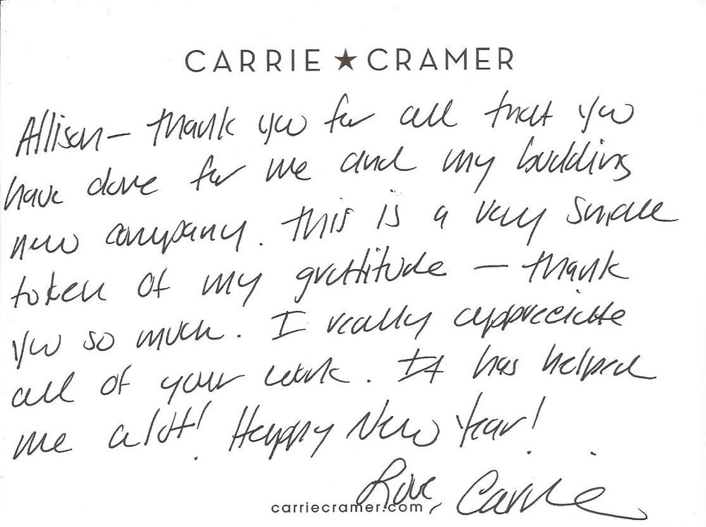 From Carrie Cramer Fine Jewelry