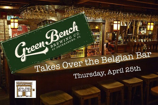 This Thursday, April 25th! We will have Co-owner / Head Brewer of @greenbenchbrewing, Khris Johnson, in the pub for a Q&A at 7 PM. Plus, we'll be featuring 8 beers from their new facility called Webb's City Cellar. Next door to their original brewery, this space is focusing on Wild and Mixed Culture ales. All upstairs and to the left in our Belgian Bar!  #flbeer #craftbeer #greenbench #wildale #qanda #KhrisJohnson #decaturga #beerbar #belgianbar #upstairsandtotheleft