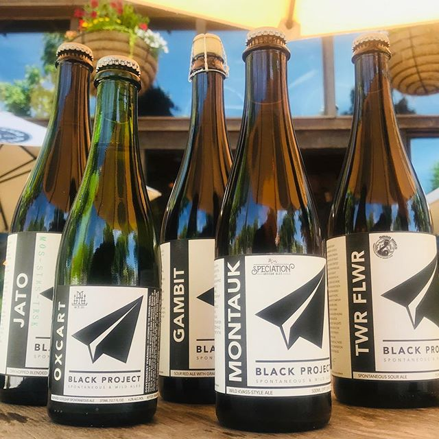 Just off the truck from our pals at @blackprojectbeer! Which one do you want to try first?  Big ups to @thebeerbombardiers! #newnew #craftbeer #wildale #spontaneousale #cobeer #decaturga #beerbar #sourbeer