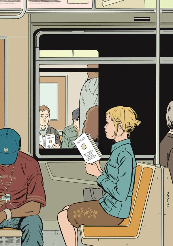 by Adrian Tomine for The New Yorker
