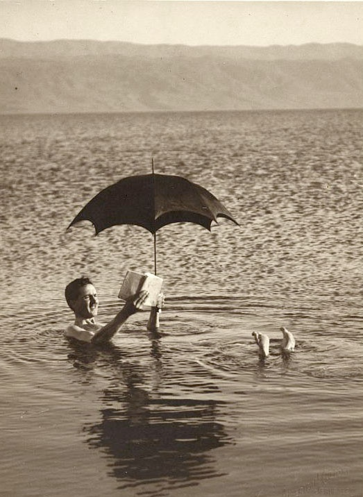 Dead Sea, Israel 1920 by Buyenlarge