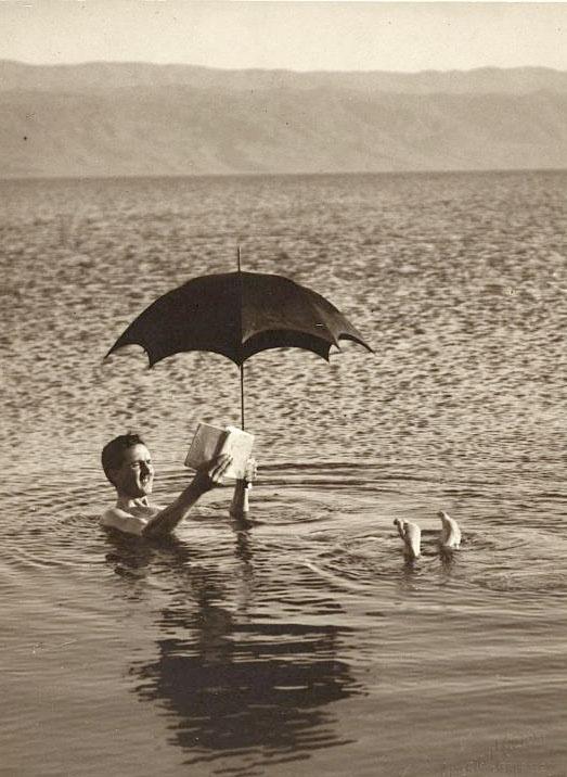 Dead Sea, Israel 1920 by Buyenlarge