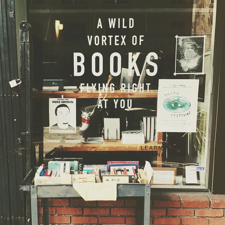 Wolfmans books on 12th street in DT Oakland. Ask the owner for a recommendation!