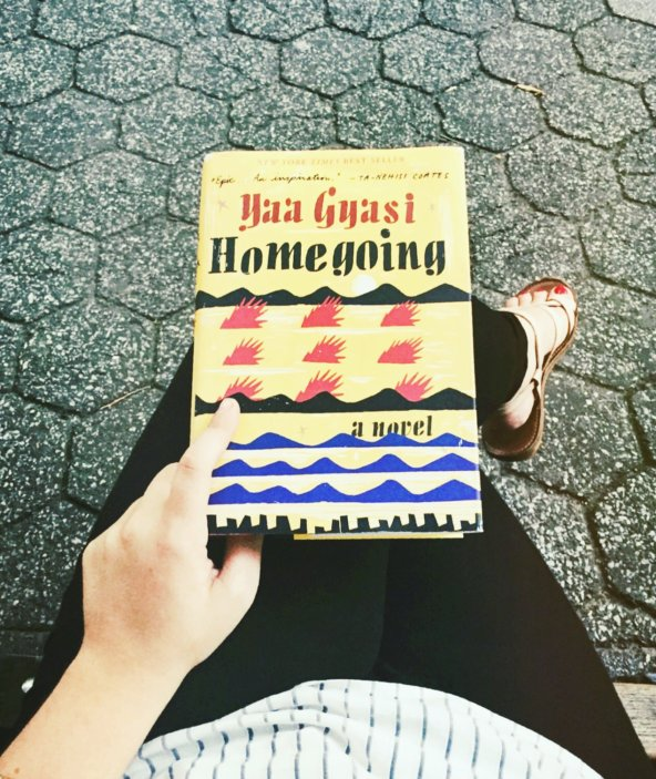 homegoing by Yaa Gyasi book review by the page worm