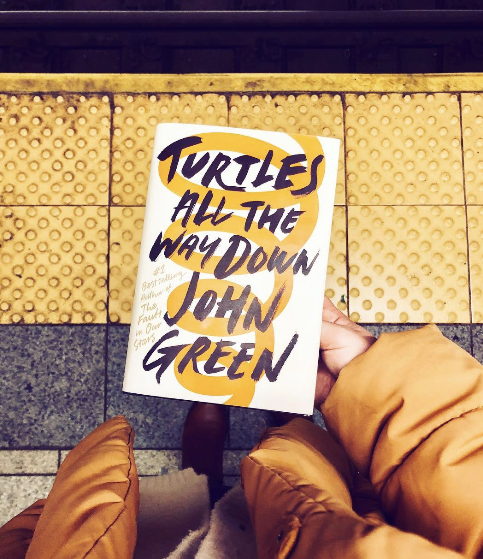 Turtles All The Way Down by John Green book review by thepageworm