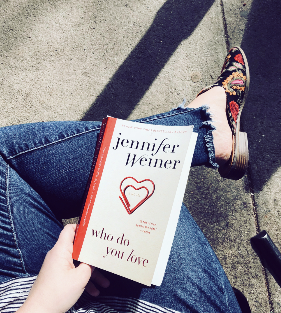 who do you love by jennifer weiner book review by the page worm