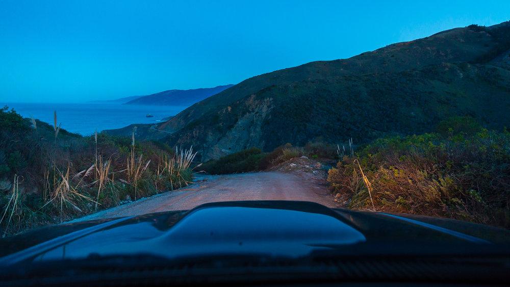 Heading down the driveway • Canon 5Dmk3