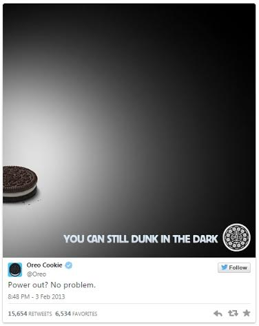 Photo courtesy of @Oreo