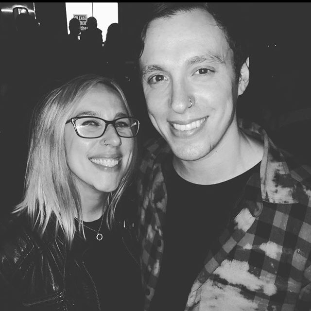 Great time last night with @lindsaymanfredi and her crew @holywarsmusic and @reignwolf  killed it! Thank you for all the inspiration 🖤