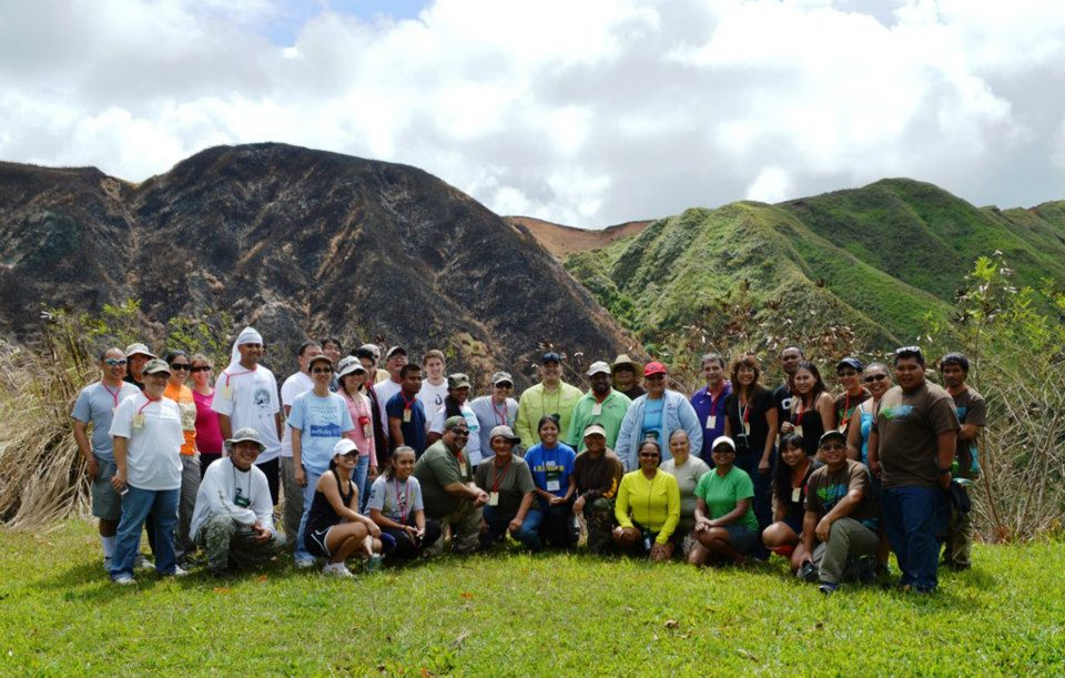 University of Guam Center for Island Sustainability Conference participants