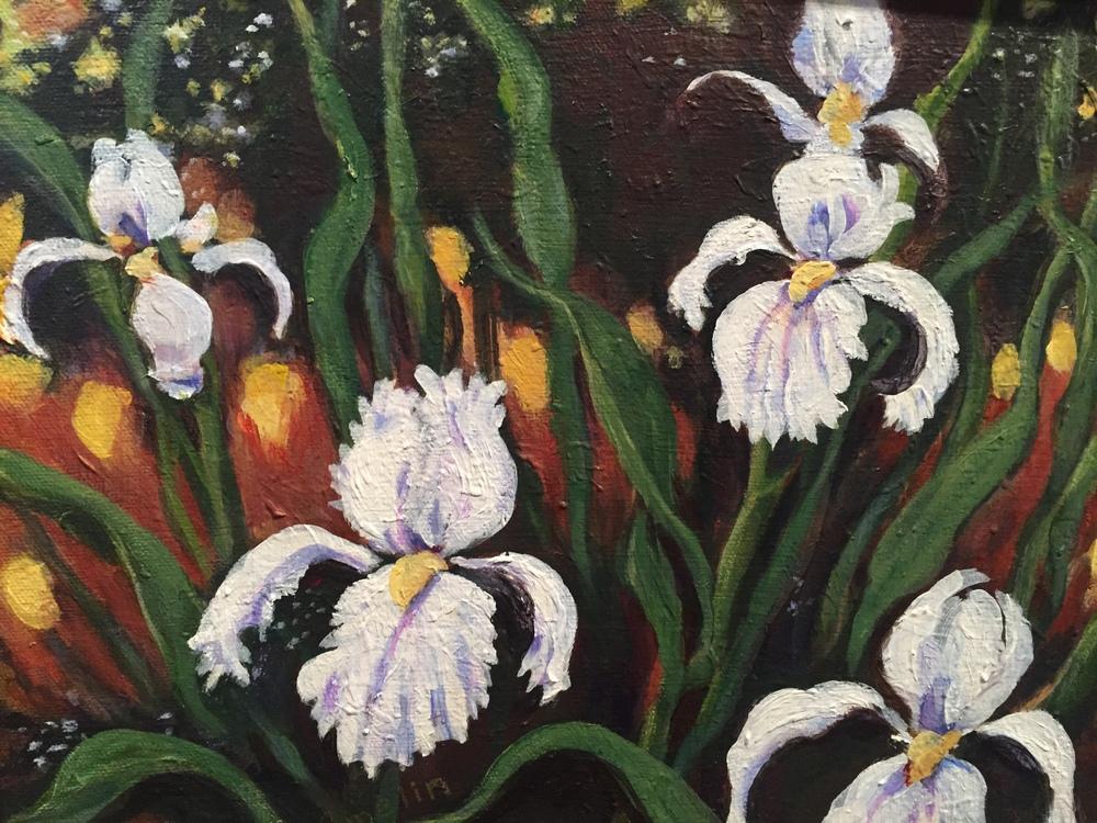 Claire Gmelin, acrylic on canvas