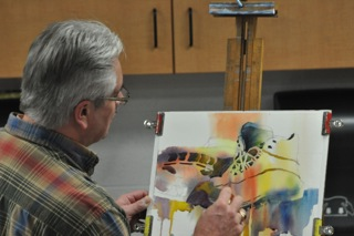 Paul Taylor, Artist. Joining our Faculty as an Instructor of Watercolor.