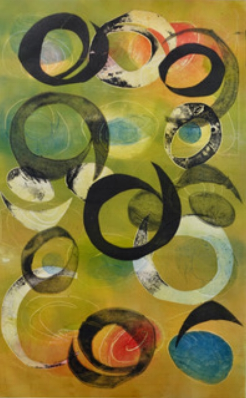 Claudia Mejia-Willett,  Untitled,  Monoprints,150.