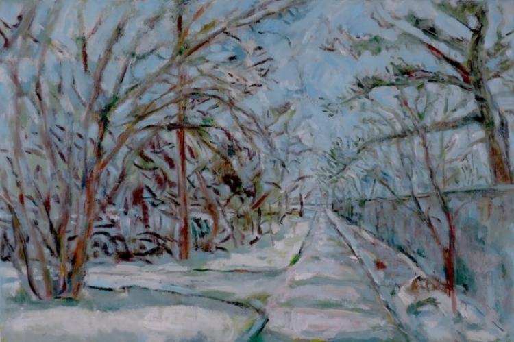 Lanna Pejovic,  Looking Back, Oil on Canvas, $2100
