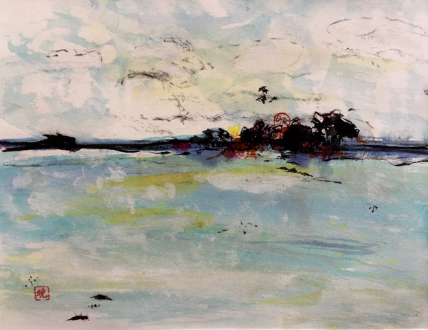 Across the Water by Dawn Robinson