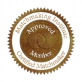 Professionally certified and trained from the Matchmaking institute out of New York, NY.    Also a licensed, registered and certified Hypnotherapist in Canada and the USA