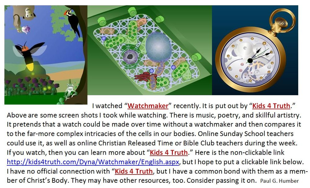 Here is the link,  http://kids4truth.com/Dyna/Watchmaker/English.aspx