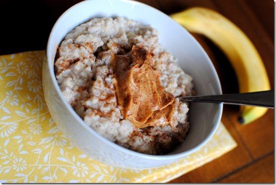 Three-Minute Egg White Oatmeal